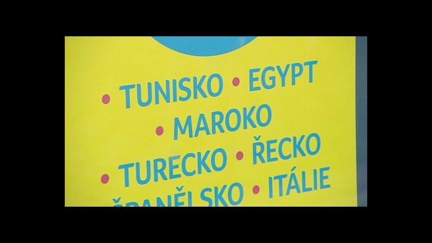Video UDÁLOSTI: Zájezdy do Tuniska se téměř neprodávají