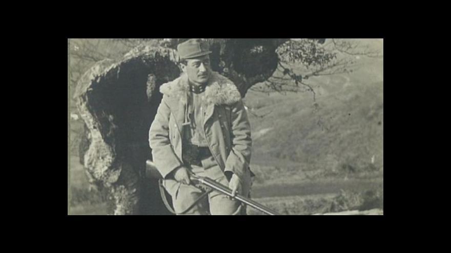 Video Události ČT: Válečný Rudnik ve fotografii Vítězslava Kneifla