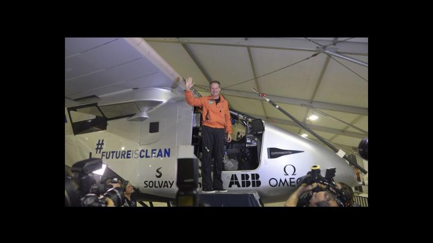 Video Cesta Solar Impuls 2 přepisuje dějiny aviatiky