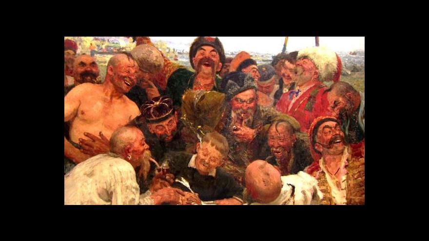 Video Ruské umění v Alšově jihočeské galerii
