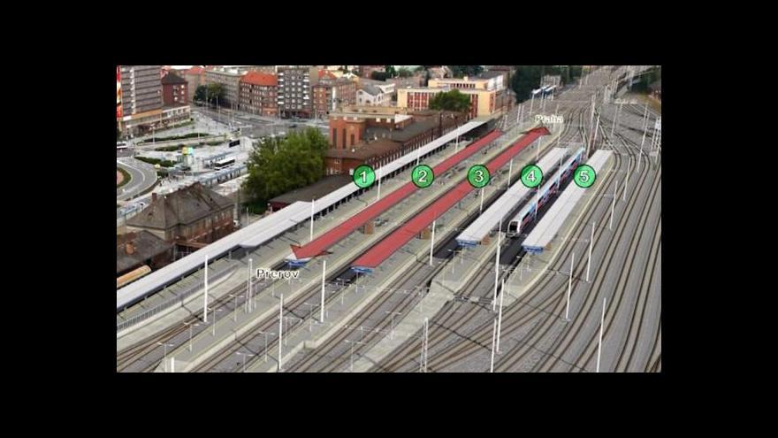 Video Václav John: Olomouc je třetí největší nádraží v republice