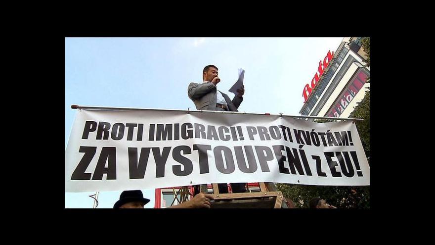 Video Okamura: Musíme se podívat, co bylo na šibenicích napsáno