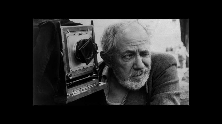 Video Josef Sudek ve filmu i na výstavě
