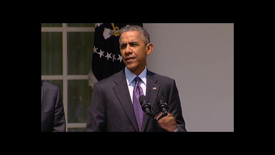 Video Obama: Začneme novou kapitolu v dějinách našich zemí