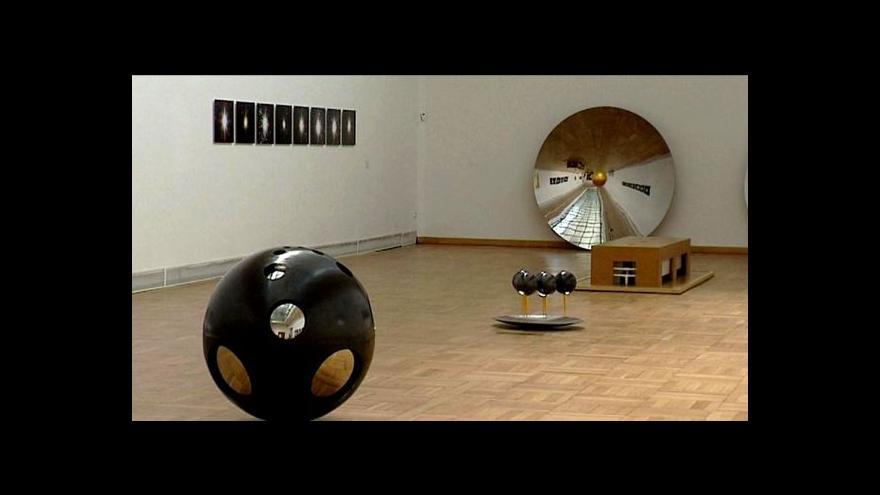 Video Vladimír Škoda a Franta vystavují v Ostravě