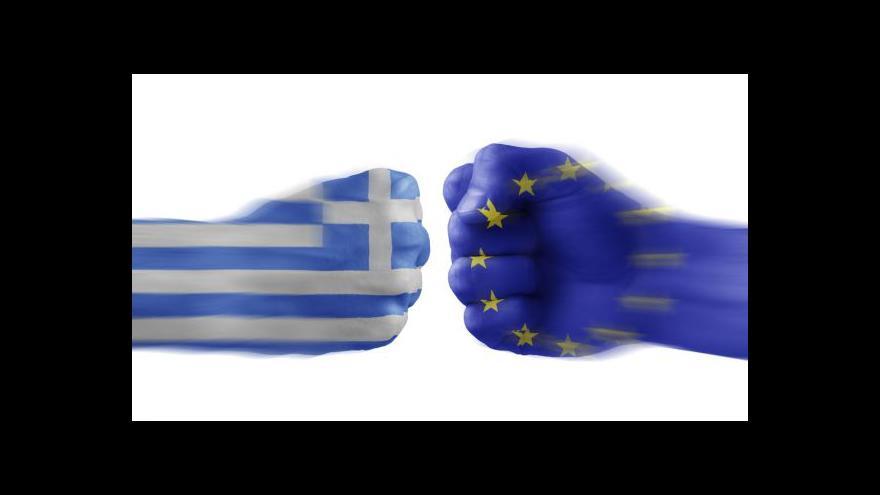 Video Hnát: Řecko může zbankrotovat a zůstat v eurozóně
