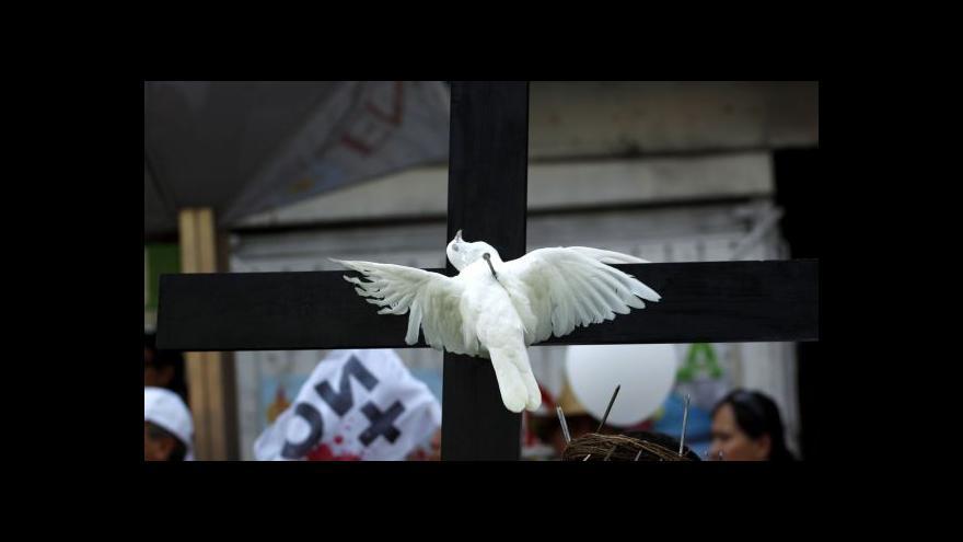 Video Mexická spravedlnost ve vlastních rukou - pohledem kamery