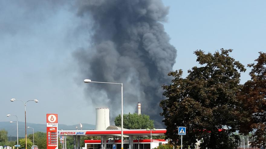 Video Starostka Litvínova: Za výbuchem stojí výpadek chladicího systému