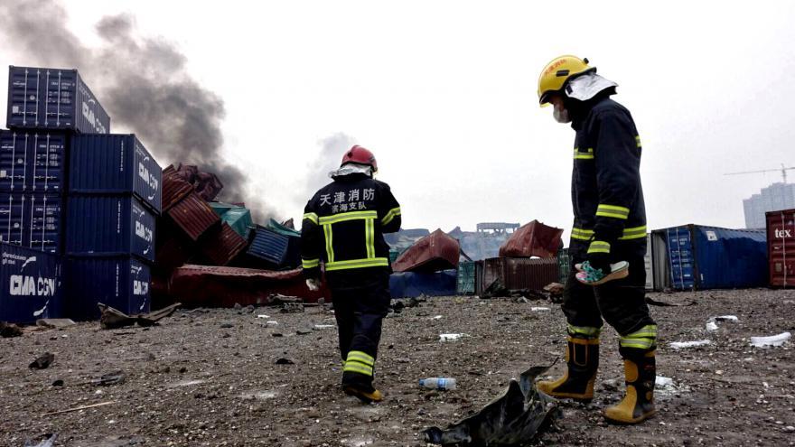Video V Tchien-ťinu pokračují záchranářské práce