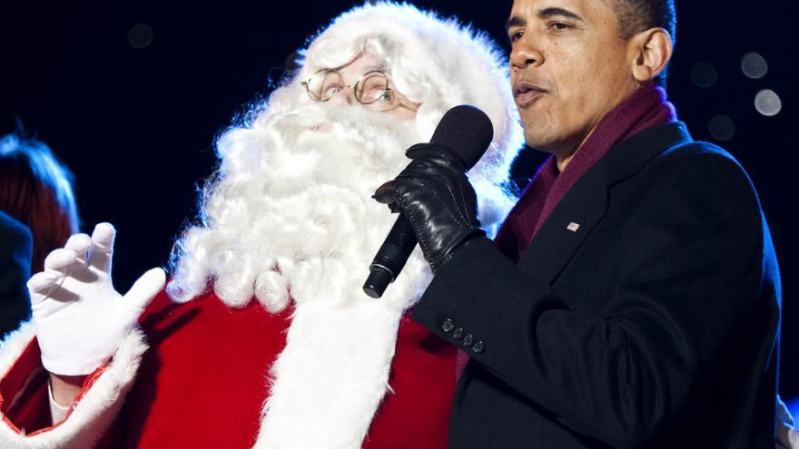 Video Americký prezident rád zpívá i tančí