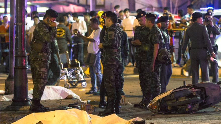 Video Jan Papež k atentátu v Bangkoku