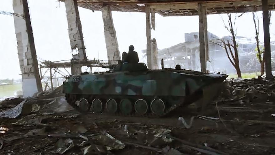Video Další boje na východní Ukrajině