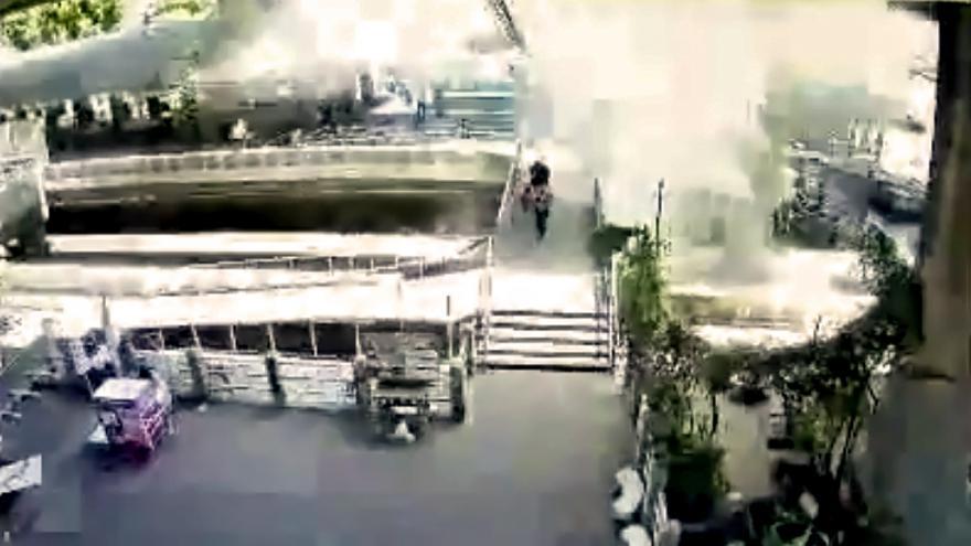 Video Druhý výbuch v Bangkoku