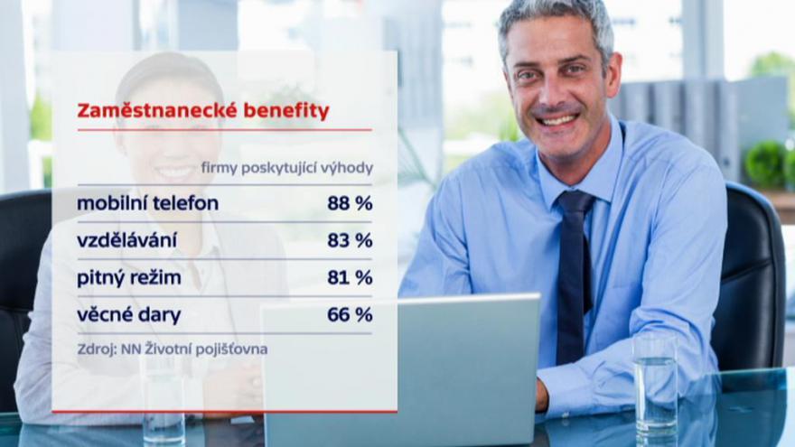 Video Události: Jaké benefity nabízejí firmy v Česku?