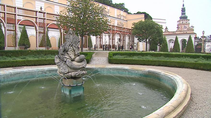 Video Bez komentáře: Obnovené zahrady mikulovského zámku