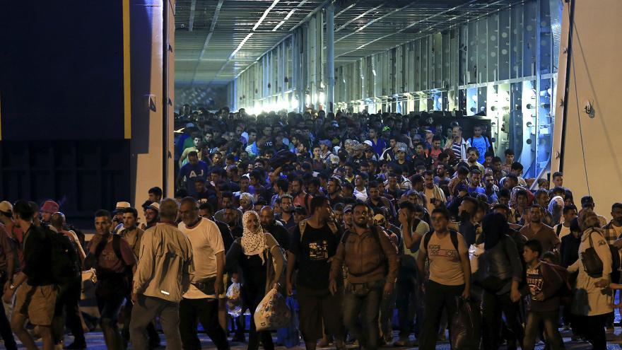 Video Události: Uprchlické protesty proti maďarské vládě v Budapešti