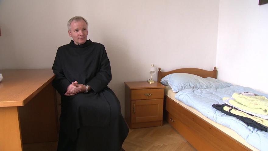 Video převor brněnského kláštera Milosrdných bratří Martin Macek