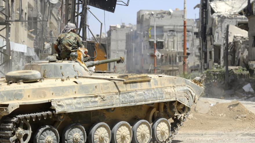 Video Washington se domnívá, že IS používá chemické zbraně