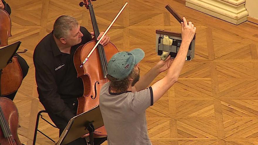 Video Bez komentáře: BBC natáčí s brněnskou filharmonií
