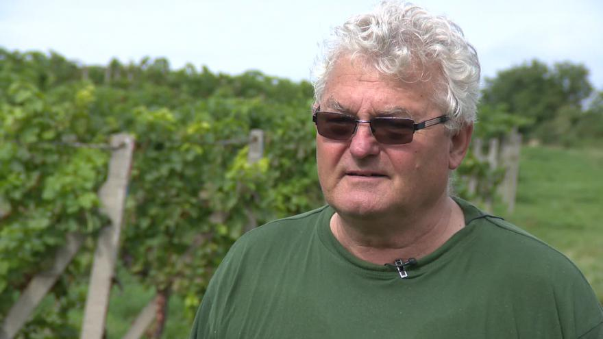 Video Místní vinař Ladislav Langr o problémech s uzavírkou