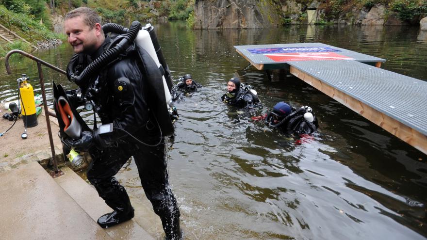 Video Potápěč: Pod vodou jsme spali tvrdě a klidně