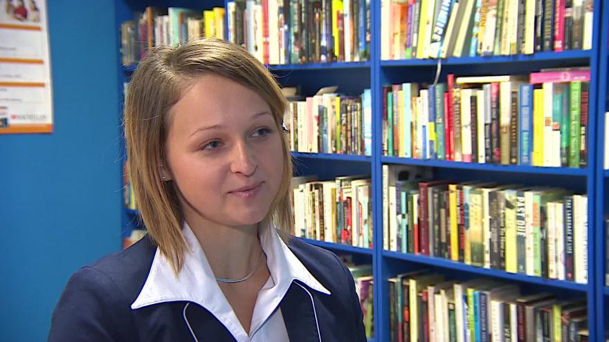 Video Dagmar Volnohradská hovoří o výuce češtiny