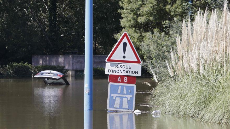 Video Jan Papež k povodním ve Francii
