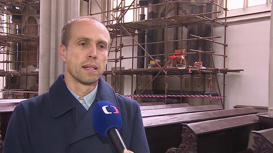 Video O opravách hovoří zástupce restaurátorské firmy Jan Všetečka