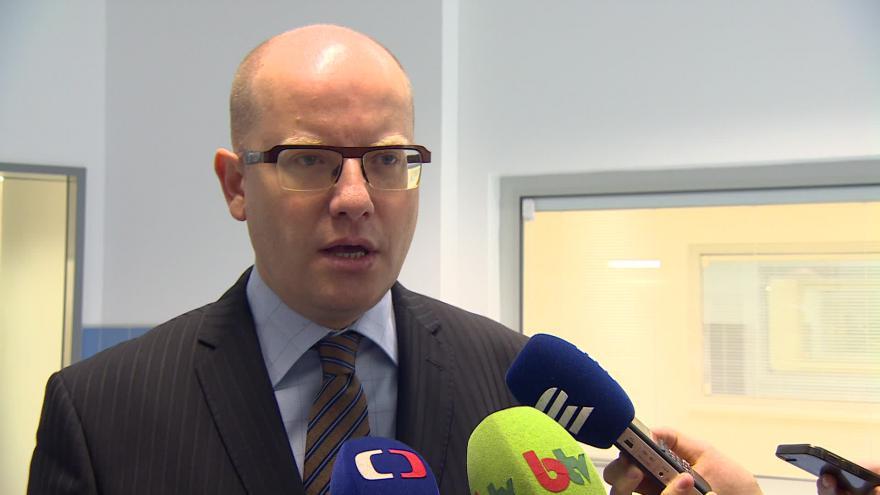 Video Premiér Bohuslav Sobotka (ČSSD) o fungování nemocnice
