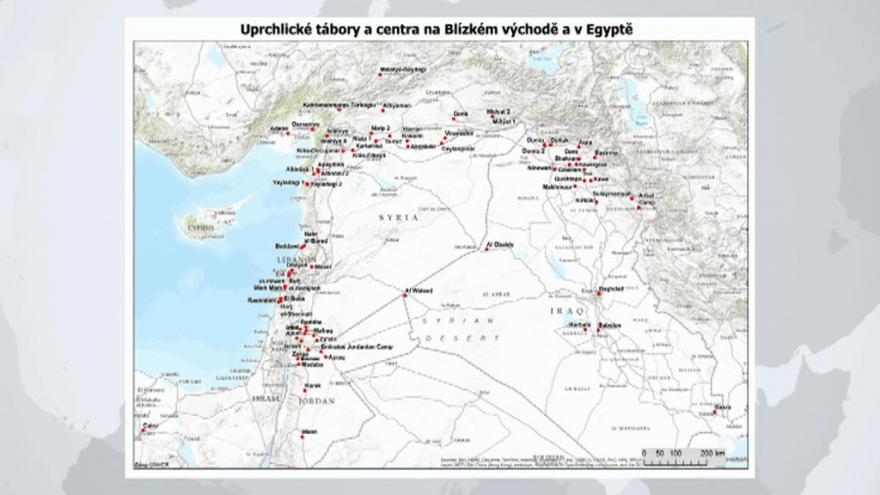 Video UDÁLOSTI: Bezpečnostní rada dostala analýzu počtu uprchlíků na blízkém východě