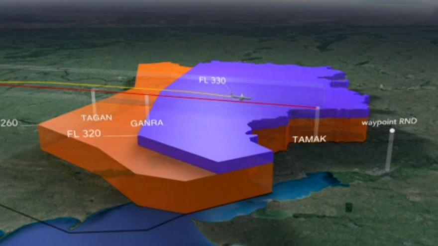 Video Animace letu MH17