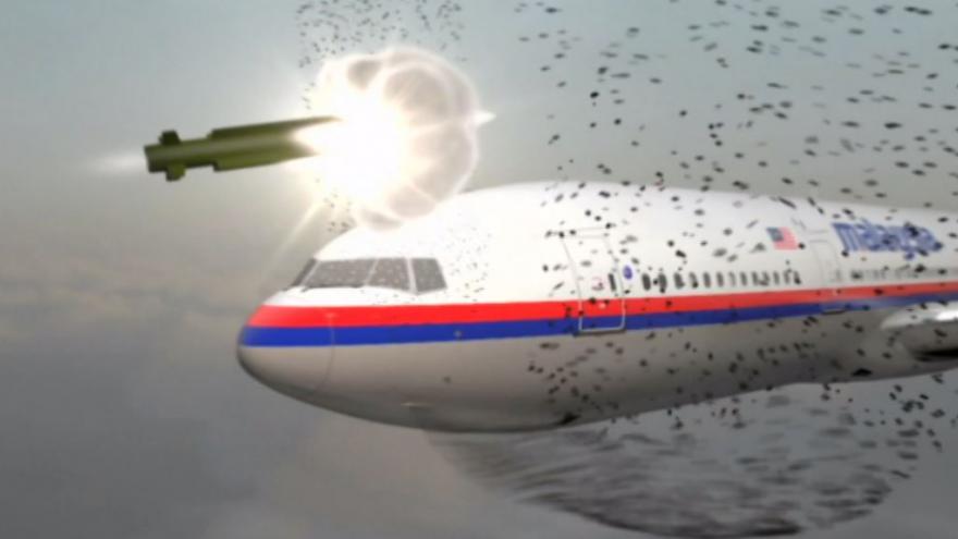 Video Animace sestřelení MH17