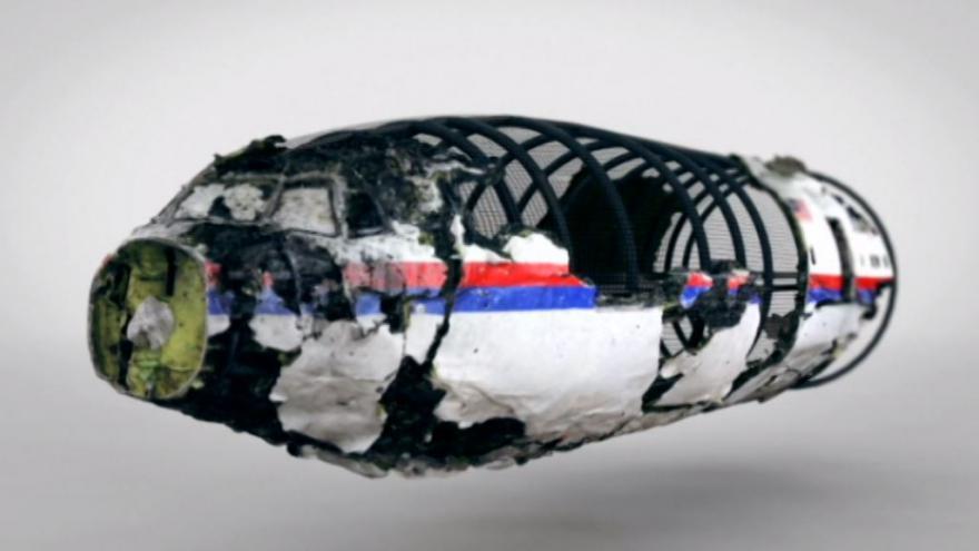 Video Animace letu a sestřelení MH17