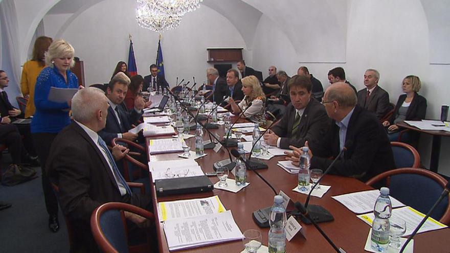 Video UDÁLOSTI: Sobotka před summitem vystoupil na evropském výboru