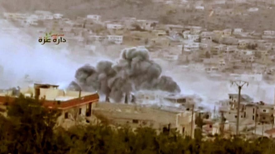 Video Rusové a Američané své akce v Sýrii nekoordinují