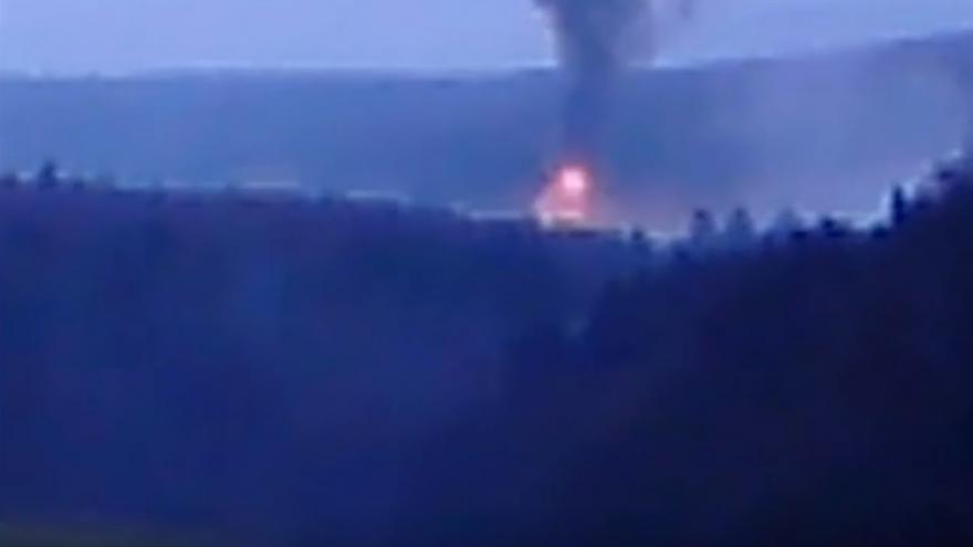 Video Výbuchy skladů muničních skladů ve Vrběticích