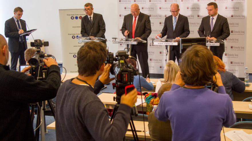 Video Výjezdní zasedání vlády v Ústí nad Labem