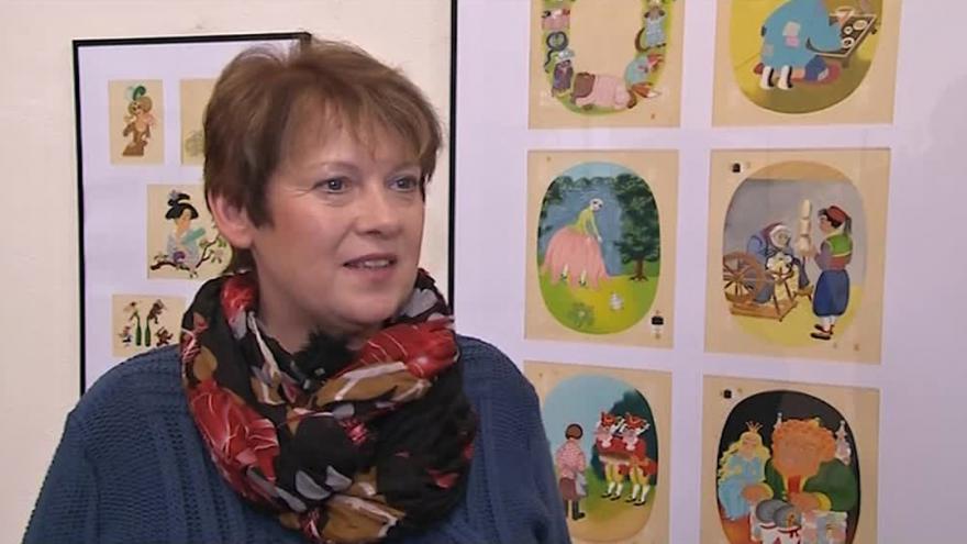 Video O výstavě Heleny Zmatlíkové hovoří kurátorka Marie Martykánová