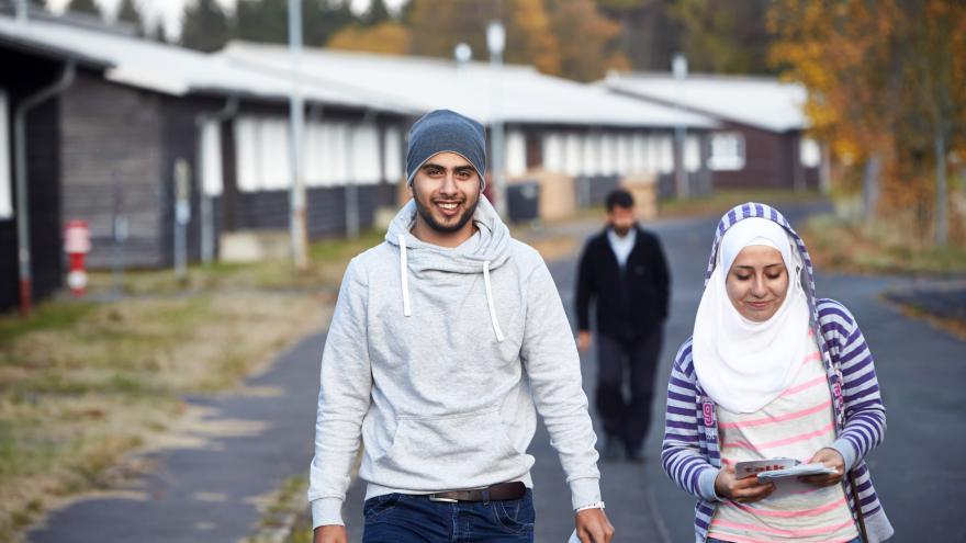 Video Německé obce u hranic s Českem připravují byty pro uprchlíky
