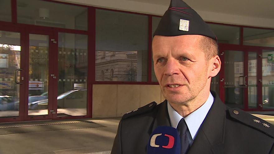 Video O nehodách na D2 hovoří policejní mluvčí Bohumil Malášek