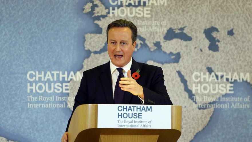 Video Projev Camerona k EU