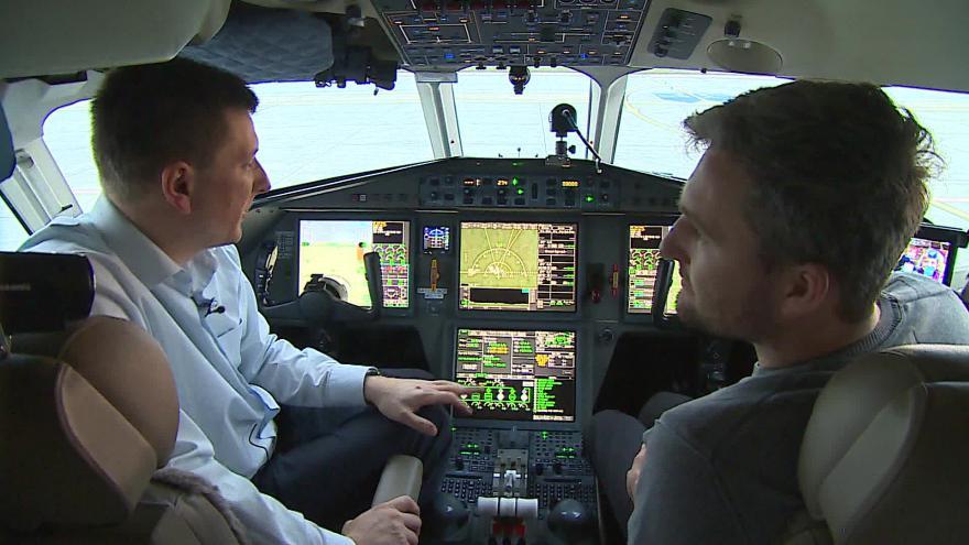 Video Pilot Ivan Lacko o takzvaném syntetickém vidění