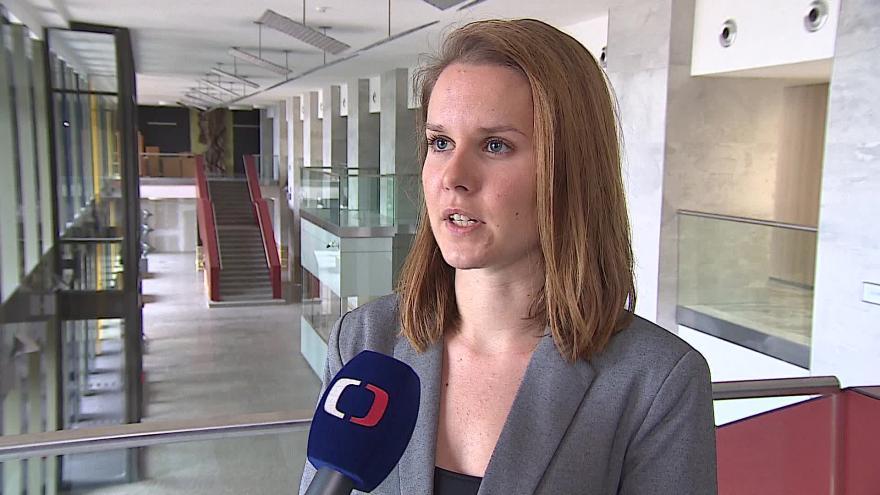 Video Mluvčí VUT Radana Kolčavová o výzvě rektora k poplatkům