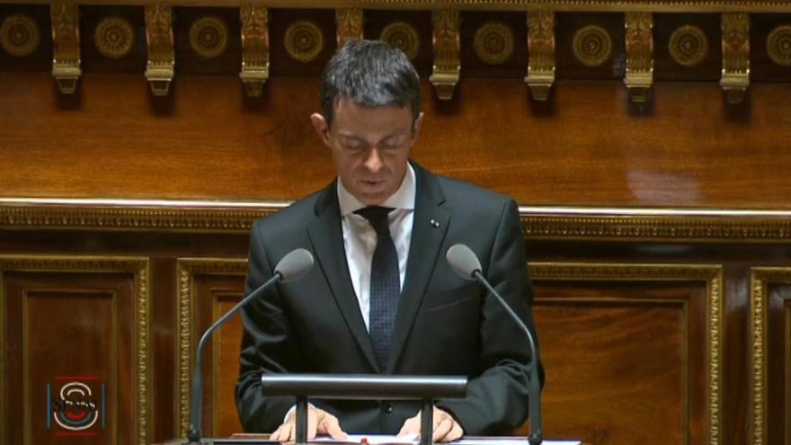 Video Projev premiéra Vallse ve francouzském Senátu