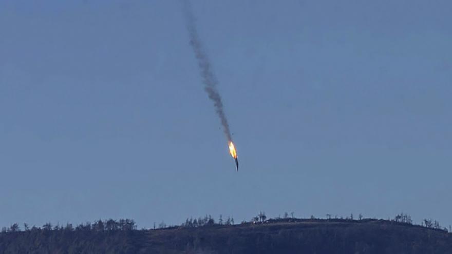 Video Události, komentáře k sestřelení ruského letadla