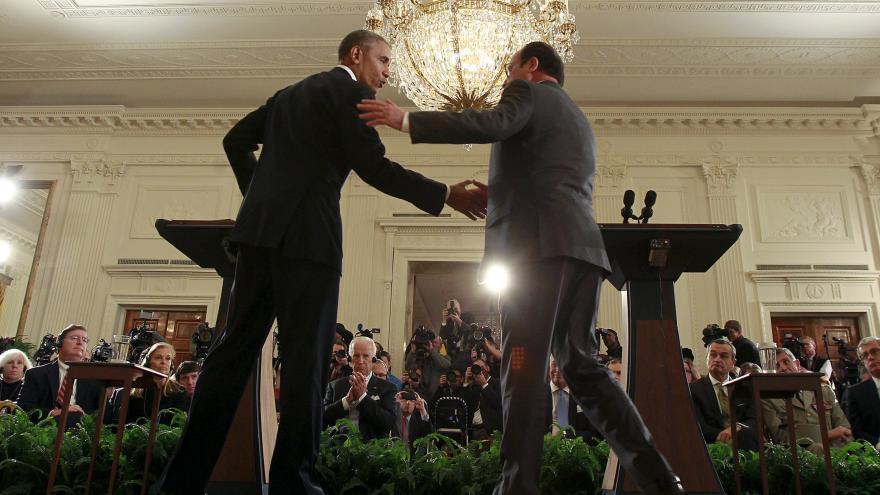 Video Události, komentáře: Hollande a Obama o terorismu