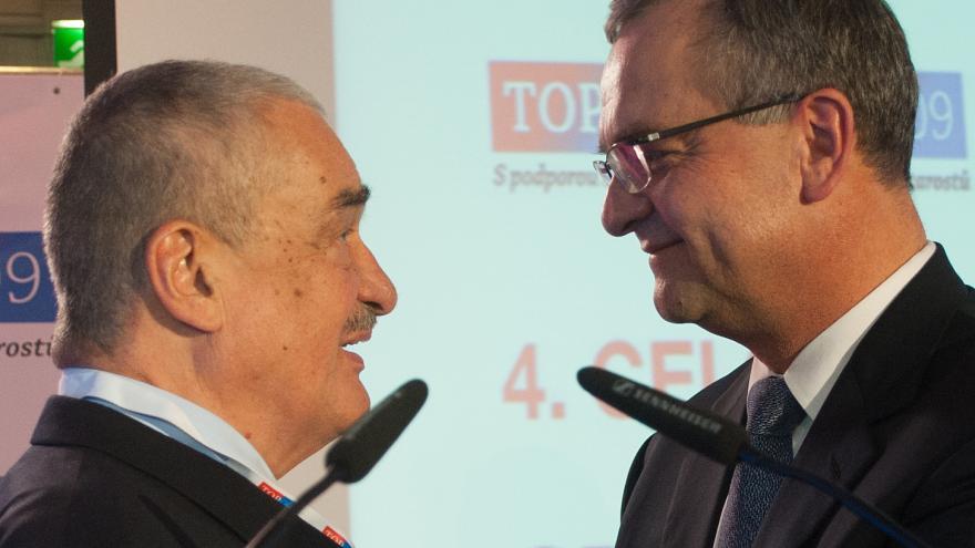 Video Schwarzenberg: S radostí jsem předal Mirku Kalouskovi předsednictví strany