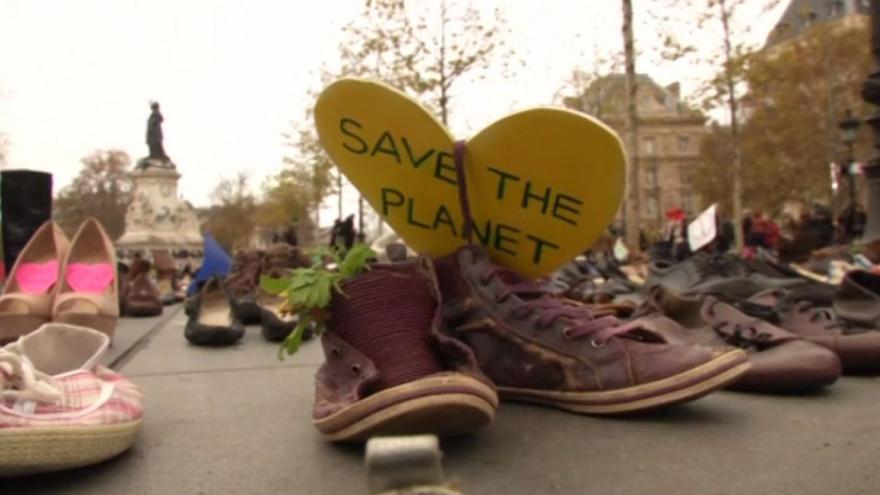Video Klimatická konference v Paříži: Boty