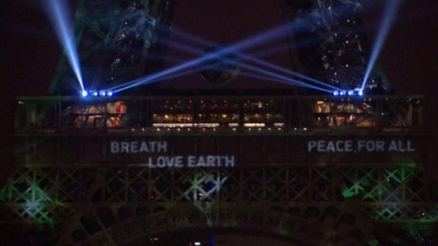 Video Klimatická konference v Paříži: Eiffelova věž