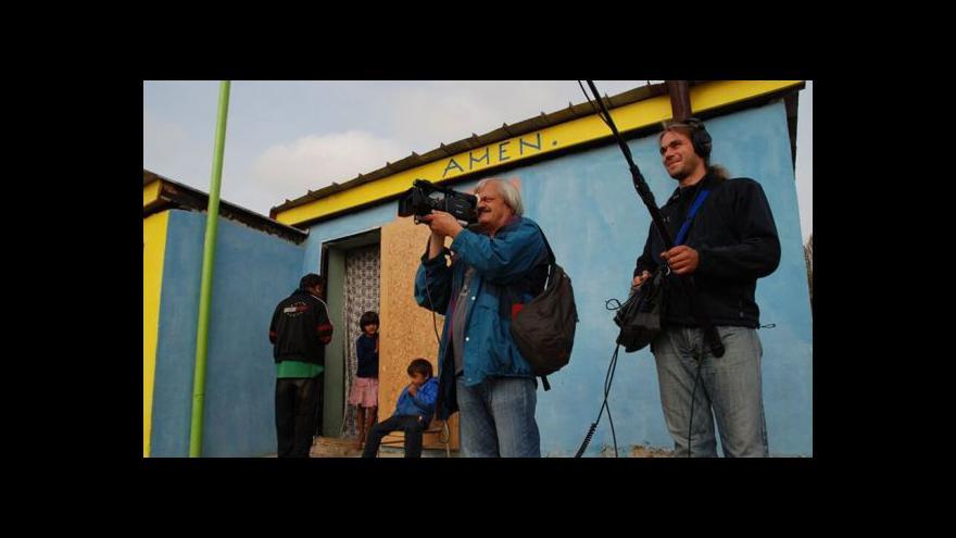 Video Ladislav Kaboš: V romských osadách jsou lidé jako my